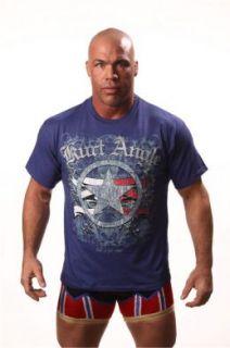 Official TNA Wrestling Kurt Angle Warrior T Shirt