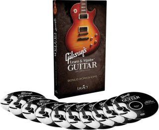 Hal Leonard Gibsons Learn Master Guitar Bonus Work