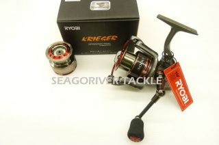 Ryobi Krieger 3000 Spinning Reel w Spare Spool Latest New Model