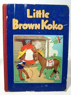 1940 LITTLE BROWN KOKO Blanche Seale Hunt ~ Black Americana Childrens