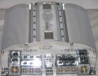 Kole C12HD 12 Farad Digital Chrome Capacitor Car Audio Power Super Cap