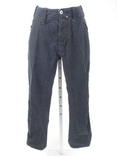 Diesel Blue Straight Leg Pants Slacks Trousers Sz 30