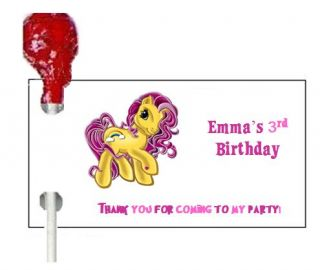 108 My Little Pony Birthday Party Candy Wrappers Favors