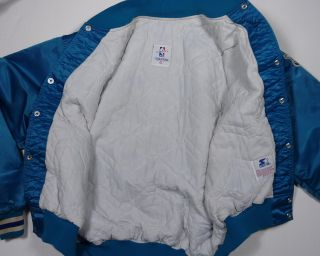 Vintage 80s Charlotte Hornets NBA Starter Satin Jacket XL