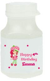 108 Strawberry Shortcake Birthday Party Candy Wrappers Favors