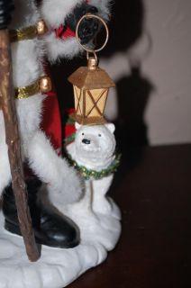 Kurt Adler Fabriche Christmas Santa Claus Nordic Polar Bear 12