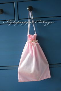 10 Satin Gift Bag Bridal Hens Party Babyshower Ballet
