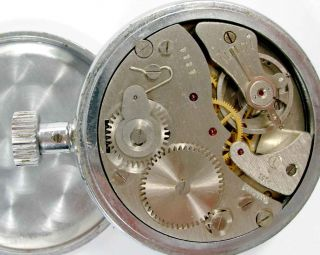 AGAT Vintage Russian USSR Mechanical Stop Watch 15 Jewels A49
