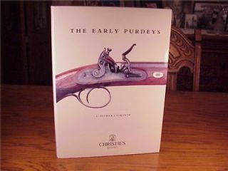 PATRICK UNSWORTH   THE EARLY PURDEYS   HUNTING GUN BOOK   EX IN D