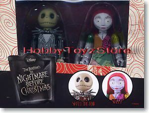 Kubrick Nightmare Before xmas Jack Skellington Sally