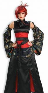 Sexy Adult Halloween Costumes Asian Samurai Costume