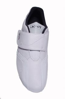 Lacoste Mens Shoes Protect PS SPM White Light Grey Leather 7