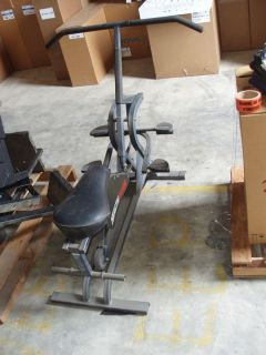Lot of Exercise Equipment A Healthrider Leg Curl Arm Curl Machine
