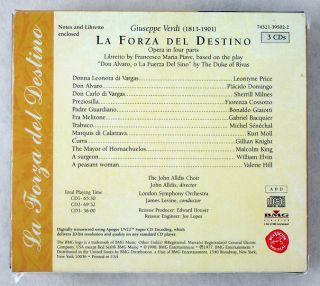 La Forza Del Destino Verdi The RCA Opera Treasury 3 CD