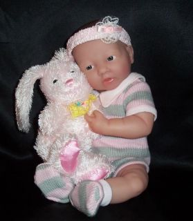 Berenguer New 2008 La Newborn 14 Pink Real Girl