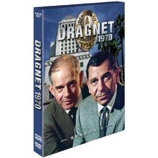 Dragnet 1970 4 DVD Set 27 Season Four Episodes