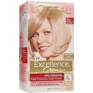 Oreal Paris Excellence Creme Hair Color Light Natural Blonde 9