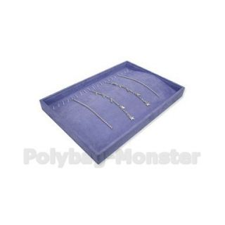 13 8 Lilac Jewelry Retail Display Shop Stand Necklace Tray Box Case
