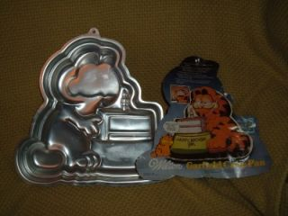 Wilton Garfield Cake Slice Pan 1978 2105 2447