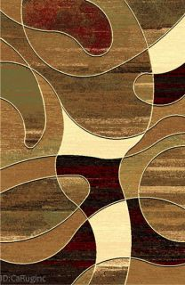 5x8 Area Rug Abstract Contemporary Modern Design Geometric New
