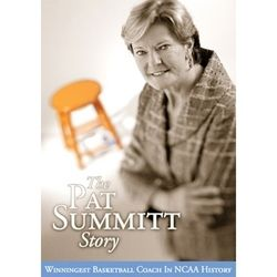 The Pat Summitt Story DVD Tennessee Lady Vols