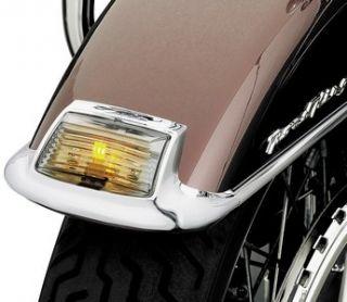 Kuryakyn ft Smoke Fender Tip Lens Amber Harley Davidson FLHT FL FLST