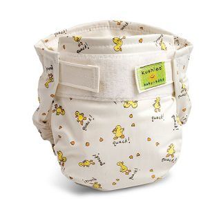 Cloth diapers are not only economical but they are better for baby and
