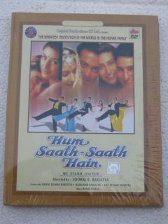 Hum Saath Saath Hain DVD Hindi Movie Bollywood India Salman Khan