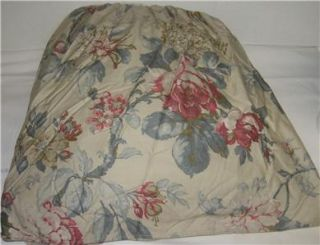 Ralph Lauren Lake House Floral Queen Bedskirt New