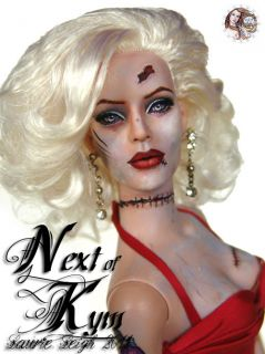 Next of Kym Art Tonner Doll Repaint by Laurie Leigh