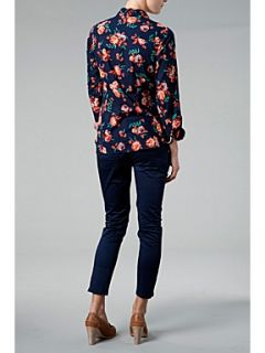 Tommy Hilfiger Floral printed Long sleeve shirt Dark Blue