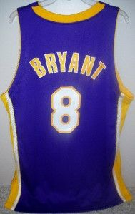 Kobe Bryant Game Used Lakers 8 Jersey 100 Auth LOA COA