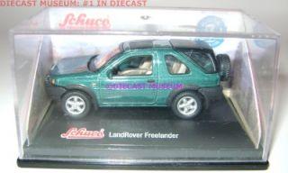 Land Rover Freelander 1 72 Diecast w Case Schuco RARE