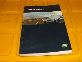 05 2005 Land Rover Freelander Owners Manual Book Guide 1224