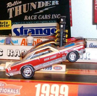 Mopar Racing Dick Landy 1968 Hemi Dodge Dart NHRA Super Stock Drag
