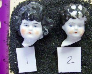 Antique Victorian German Bisque Shoulder Head Doll