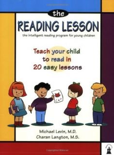 Reading Lesson Teach Your Child to Read in 20 Easy Lessons Book New PB