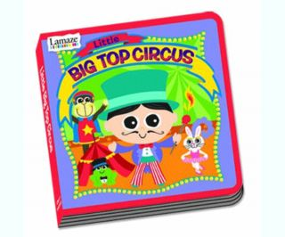 Lamaze Little Big Top Circus Board Book Baby Read BN