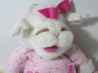 Lewis Baby Lamb Chop Stuffed Plush Animal Hand Puppet Pacifier
