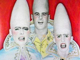 Coneheads, NBC 1978 SNL Poster with Dan Akroid, Grateful Dead, 20 x 28