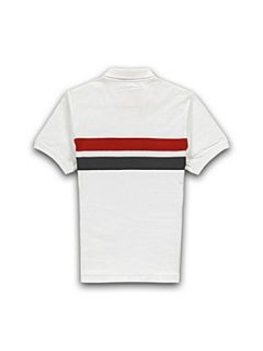Racing Green Polo shirt White