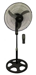 New Lakewood LSF1810BR 18 Oscillating Floor Portable Fan Electronic