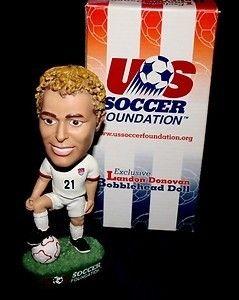 Exclusive 2001 U.S. Soccer Foundation Landon Donovan Bobble Head Doll