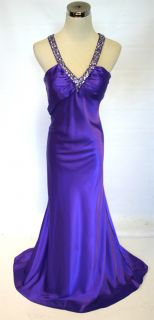 Hailey Logan $150 Purple Prom Evening Party Gown 7