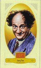 2012 Panini Golden Age Mini Broadleaf Brown Ink 55 Larry Fine