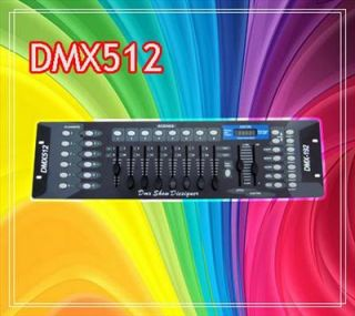 CH DMX512 Controller for Stage Light DJ Laser Lighting w LED