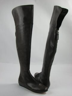 Vera Wang Lavender Larissa Over The Knee Boots Grey Womens Size 8 M