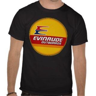 Vintage Evinrude outboard motors sign Tee Shirt