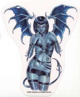 Sexy Demon Girl Vinyl Sticker Decal Fetish