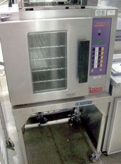 Lang EHS PP Convection Oven Half Size Includes Stand with Casters
